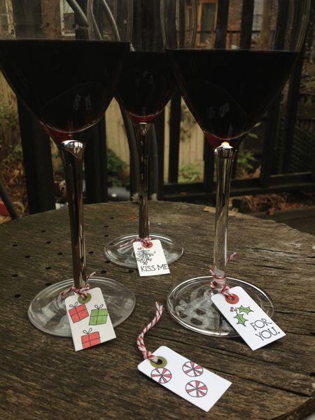 POD - wine glass charms 1