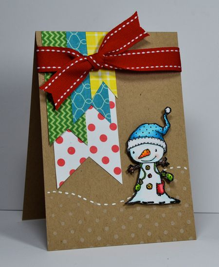 Kelly Booth - Winterberry Card