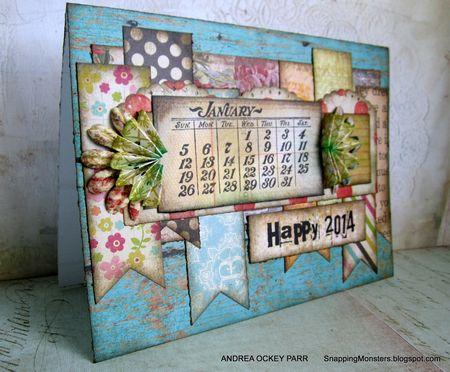 Andrea Ockey Parr - Calendar Card