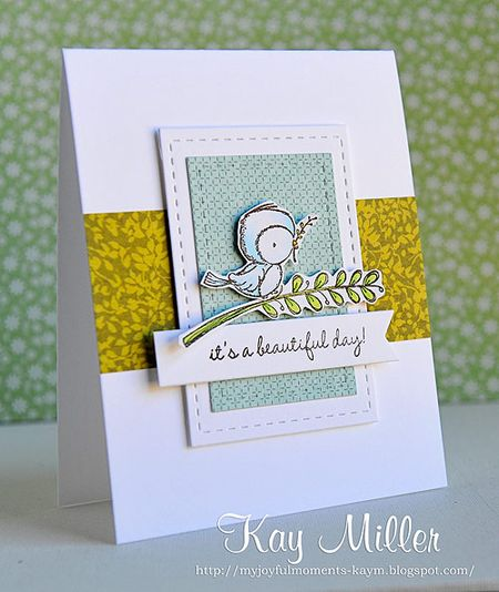 Kay Miller - It's A Beautiful Day Sweet Offerings Card