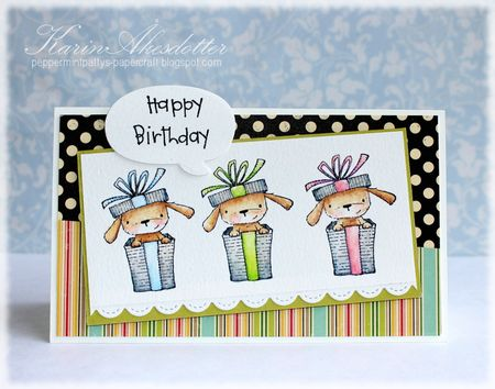 Karin Akesdotter - Elm Birthday Card