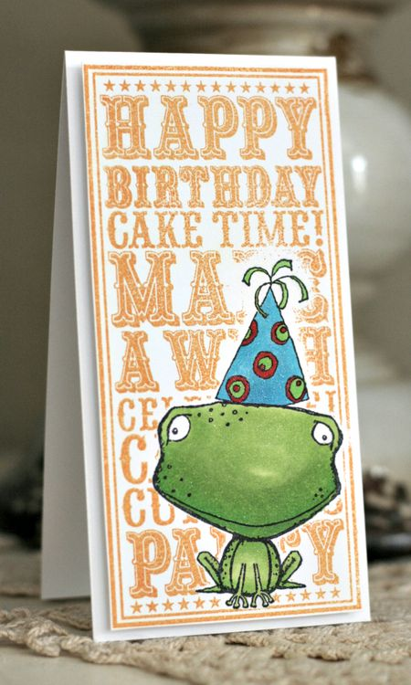 Jenn Biederman - Freckles Birthday Noteblock Card