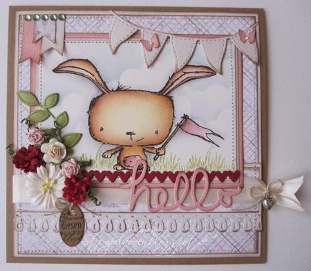 Simone Schwagler - Poppy Hello Card