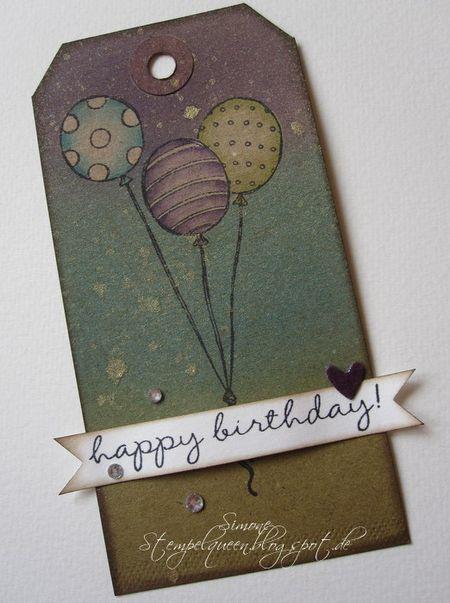 Simone Schwagler - Individual Balloon Birthday Tag