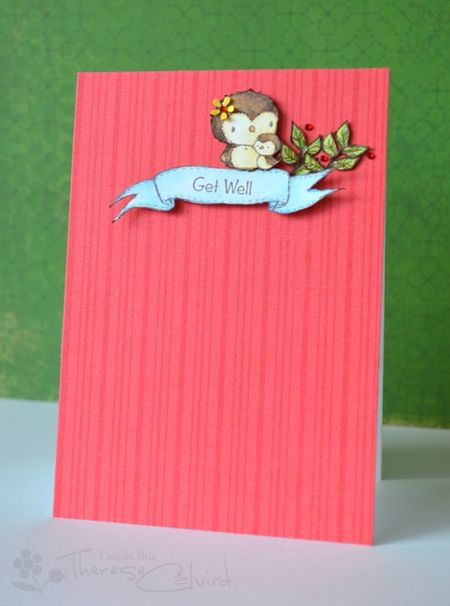 Therese Calvird - Get Well Card