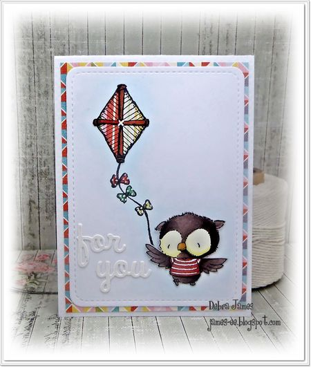 Debra James - Ruby Kite Card