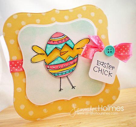 Jennifer Holmes - Easter Chick