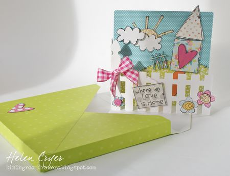 Helen Cryer - Home Card - envelope