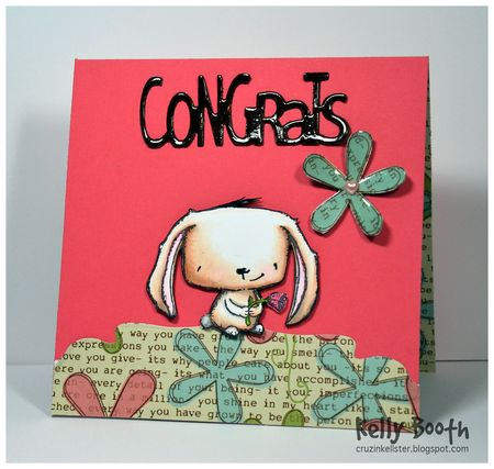 Kelly Booth - Rosie Congrats Card