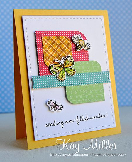 Kay Miller - Sun Filled Kisses Card