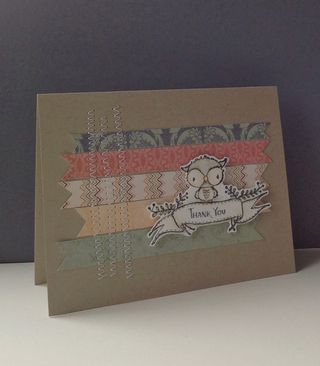 Mary Muller - Shadow Thank You Card