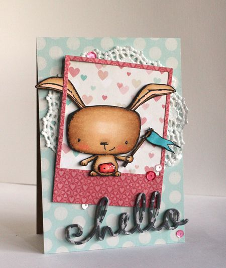 Allice Wertz - Hello Poppy Card