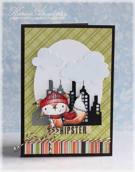 Karin Akesdotter - Cedar Hipster Card