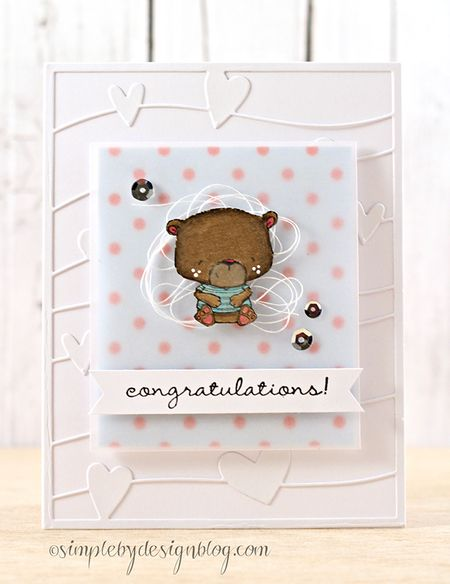 Joy Taylor - Johnny Congratulations Card