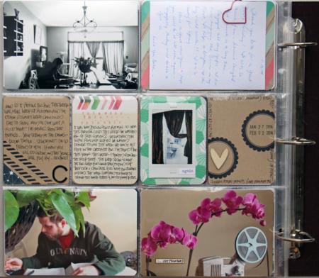 Kelly Xenos - Project Life 2014 - week 5