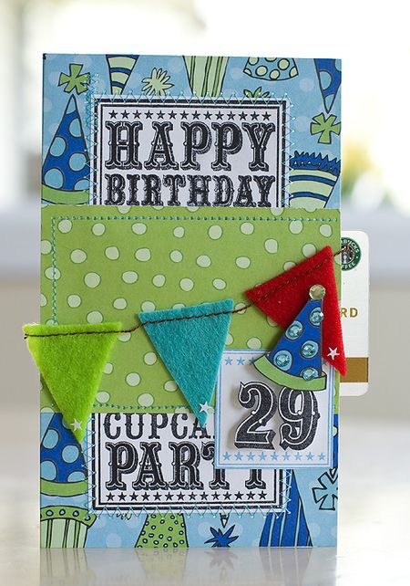 Laura Craigie - Happy Birthday Banner Card