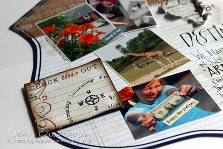 Jenn Biederman - Vacation Layout Detail