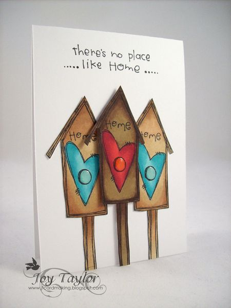 - Joy Taylor - There's no place like home card