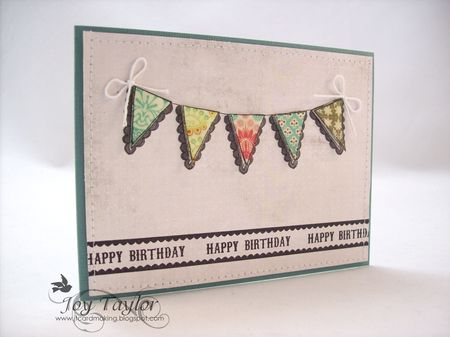 - Joy Taylor - Happy Birthday Scallop Banner