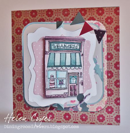 Helen Cryer - Bakery Card