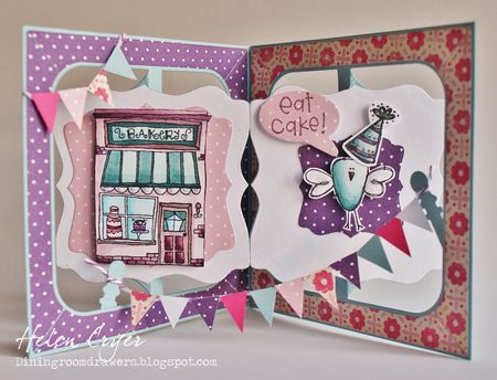 Helen Cryer - Bakery Card - inside