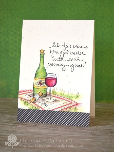 Therese Calvird - Fine Wine Card