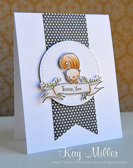 Kay Miller - Peanut Thank You Card