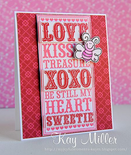 Kay Miller - Love Noteblock Card