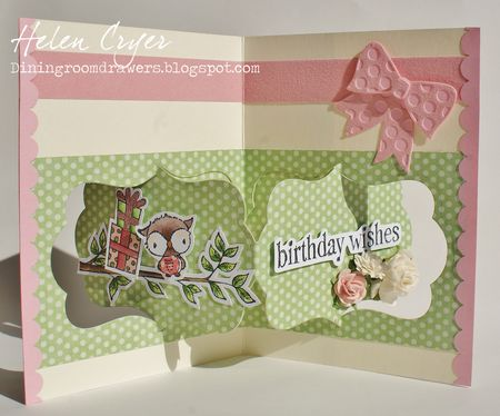 Helen Cryer - Shadow Birthday Card