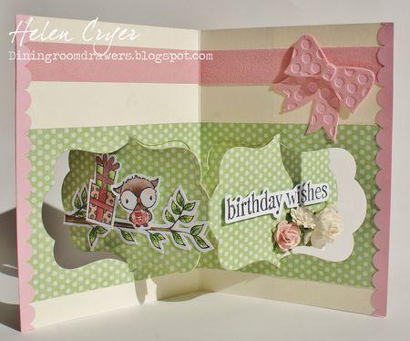 Helen Cryer - Shadow Birthday Card