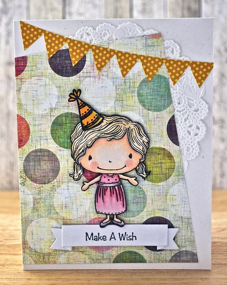 Judith Gowdy - Summer Make A Wish Card