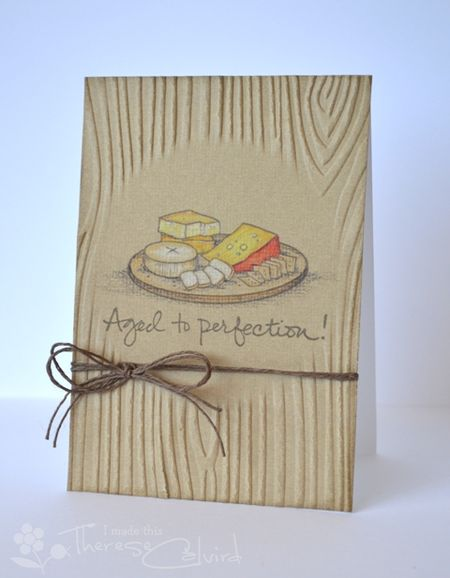 Therese Calvird - Aged to Perfection Card