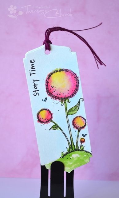 Therese Calvird - Story Time Bookmark