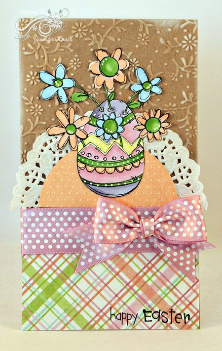 Jen Roach - Steph A Easter egg card