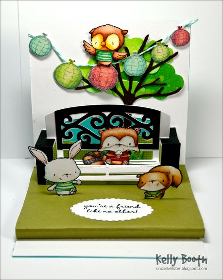 Kelly Booth - Bench Party Card - inside