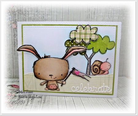 Debra James - Poppy and Tucker Card