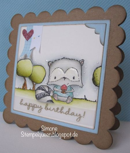 Simone Schwagler - Happy Birthday Joey Card