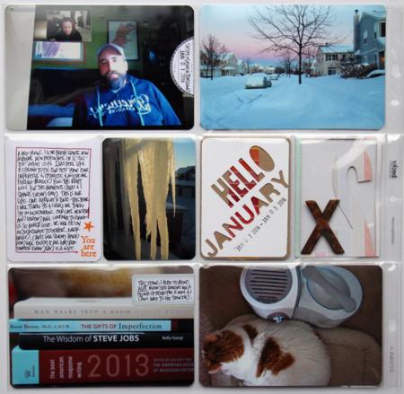 Kelly Xenos - Project Life 2014 - week 1