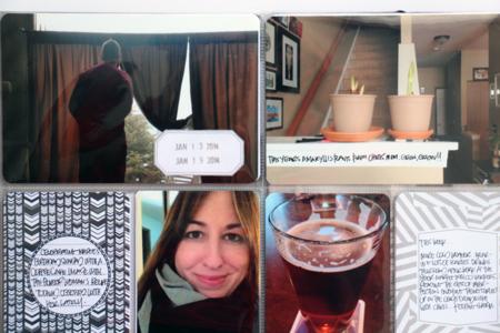 Kelly Xenos - Project Life 2014 - week 3 close up