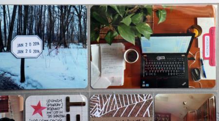 Kelly Xenos - Project Life 2014 - week 4 close up