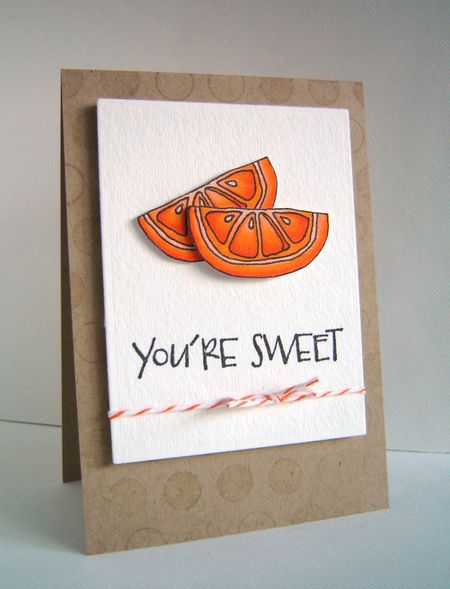 Alice Wertz - Citrus Card