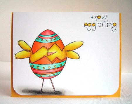 Alice Wertz - How Eggciting Card