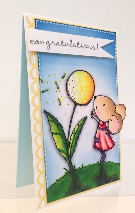 Kathy Racoosin - Wishing Card