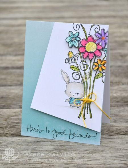 Therese Calvird - Good Friends Card