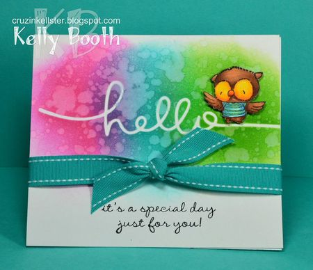 Kelly Booth - Hello Ruby Card