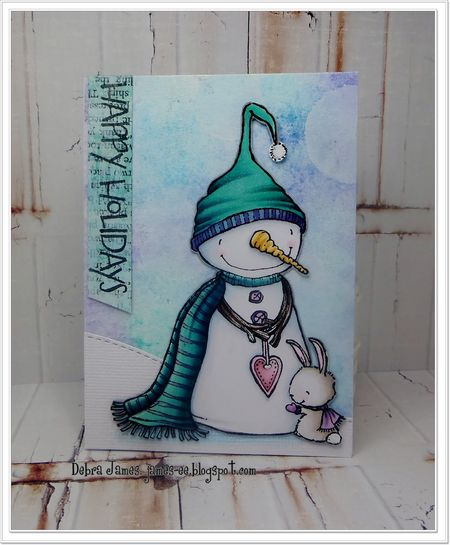 Debra James - Warm Hearted Card