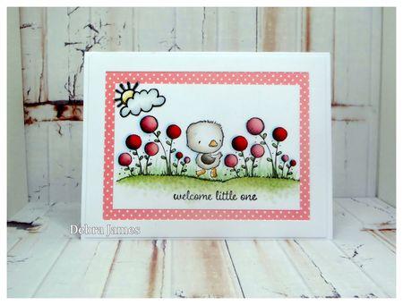 Debra James - True Little One Card