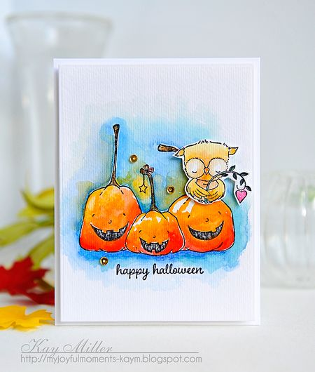 Kay Miller - Happy Pumpkin Card