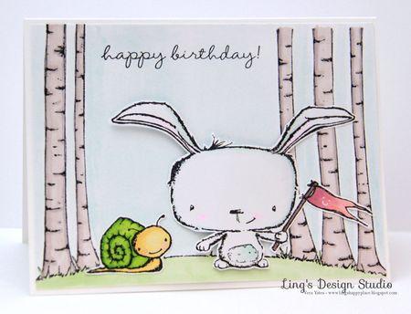 Vera Yates - Poppy and Tucker Happy Birthday