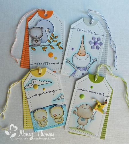 Nancy Thomas POD Seasons Tags